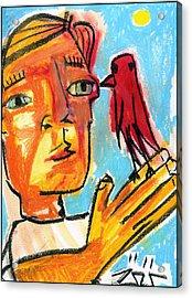 Trust Acrylic Print by Robert Wolverton Jr