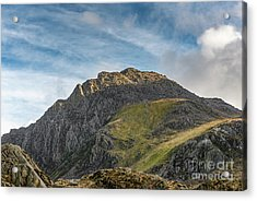 Tryfan Snowdonia Acrylic Print by Adrian Evans