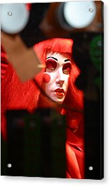 Trying To Not Be Seen Is Not Working Acrylic Print by Jez C Self