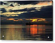 Tsawassen Sunset Acrylic Print