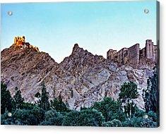 Tsemo Fort - Ladakh Acrylic Print