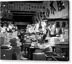 Tsukiji Shijo, Tokyo Fish Market, Japan 3 Acrylic Print