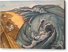 Tsunami  Acrylic Print