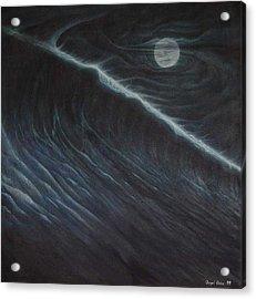 Tsunami Acrylic Print by Angel Ortiz