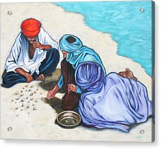 Tuaregs Acrylic Print by Lorraine Klotz