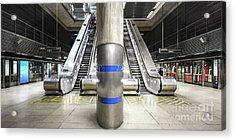 Tube Station Acrylic Print