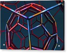 Tubes Of Light - Crystal Bridges Museum Of American Art Acrylic Print