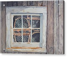 Tucked Away Acrylic Print by Debbie Homewood