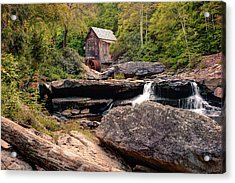 Tucked Away - Historic Old Mill Photography Acrylic Print by Gregory Ballos