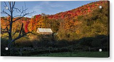 Acrylic Print featuring the photograph Tucked Away by Mark Papke