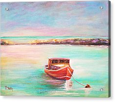 Tucked In Acrylic Print by Patricia Piffath