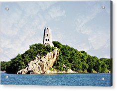 Tucker Tower Acrylic Print by Lana Trussell
