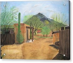 Tucson Ranch Acrylic Print