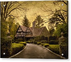 Tudor Estate Acrylic Print