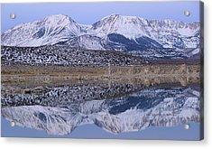 Tufa Dawn Winter Dreamscape Acrylic Print