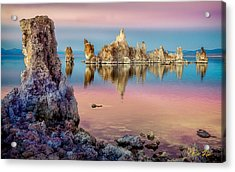 Tufas At Mono Lake Acrylic Print