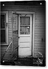 Tuff Times 2 Acrylic Print by Perry Webster