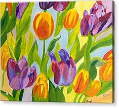 Tulip Fest Acrylic Print