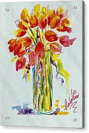 Tulip Fire Element Acrylic Print