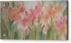 Tulip Garden Acrylic Print