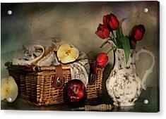Basket And All Acrylic Print