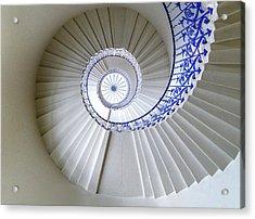 Tulip Staircase Acrylic Print by Jae Mishra