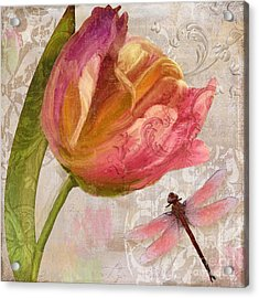 Tulip Tempest I Acrylic Print by Mindy Sommers