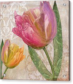 Tulip Tempest II Acrylic Print by Mindy Sommers