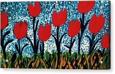 Tulip Time Acrylic Print