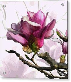 Tulip Trees Acrylic Print