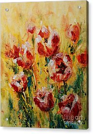 Tulip Waltz Acrylic Print