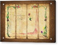 Tulipomania Acrylic Print