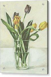 Tulips Acrylic Print by Sarah Madsen