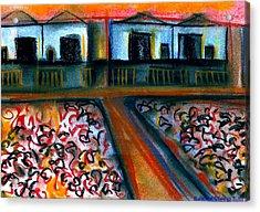 Tulla Factories 2 Acrylic Print by J Kamaru