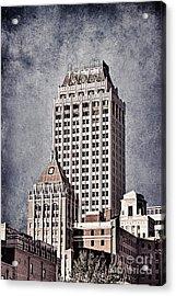 Tulsa Art Deco I Acrylic Print by Tamyra Ayles