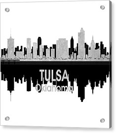 Tulsa Ok 4 Squared Acrylic Print