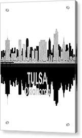 Tulsa Ok 4 Vertical Acrylic Print