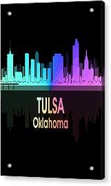 Tulsa Ok 5 Vertical Acrylic Print