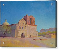 Tumacacori Mission Acrylic Print by John Marbury