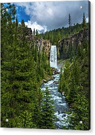 Tumalo Falls Acrylic Print