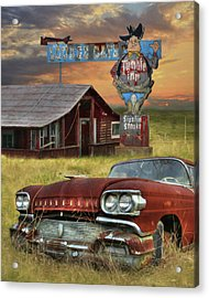 Acrylic Print featuring the photograph Tumble Inn by Lori Deiter
