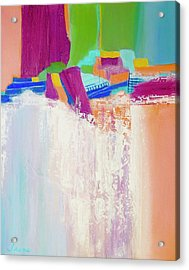 Tumbling Waters Acrylic Print