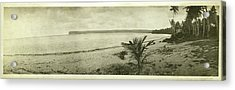 Acrylic Print featuring the photograph Tumon Bay Guam by eGuam Panoramic Photo