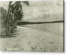 Acrylic Print featuring the photograph Tumon Beach Guam by eGuam Photo