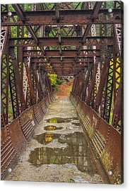 Tumwater Canoyn Pipeline Bridge Acrylic Print