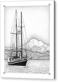 Tuna For Sale Acrylic Print by Lorrisa Dussault