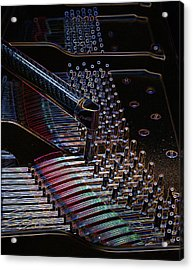 Tuning A Steinway For Jazz Acrylic Print
