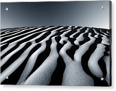 Tunisian Dunes Acrylic Print by Tim Booth