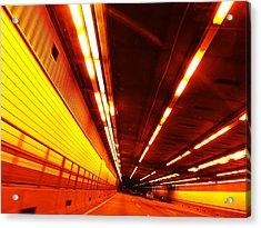 Tunnel Drive Acrylic Print