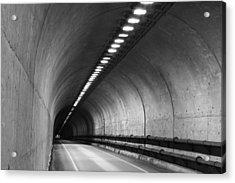 Tunnel Acrylic Print by Eric Foltz